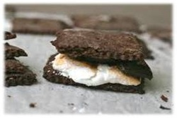 Campfire Grilled S'mores
