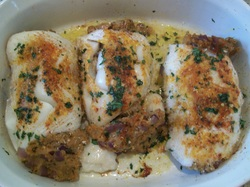 Cream Cheese Stuffed Fish Fillets