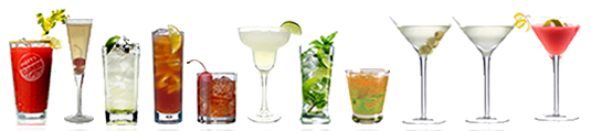 Variety of Cocktails