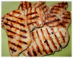 Italian Dressing Marinated Chicken Breasts