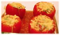 Grilled Stuffed Tomatoes