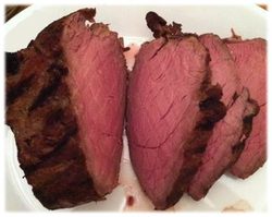 Smoked Bison Roast