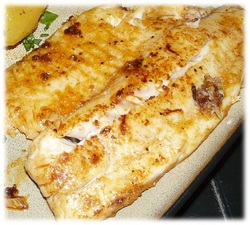 Grilled Tilapia Fillets