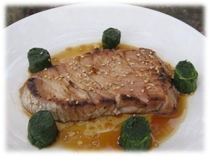 Smoked Tuna Steak