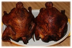 Brine Smoked Chicken