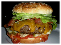 Grilled Beef Hamburgers