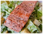 Smoked Salmon Caesar Salad
